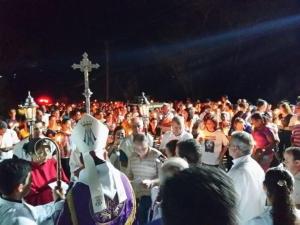 Inauguação da Via Sacra